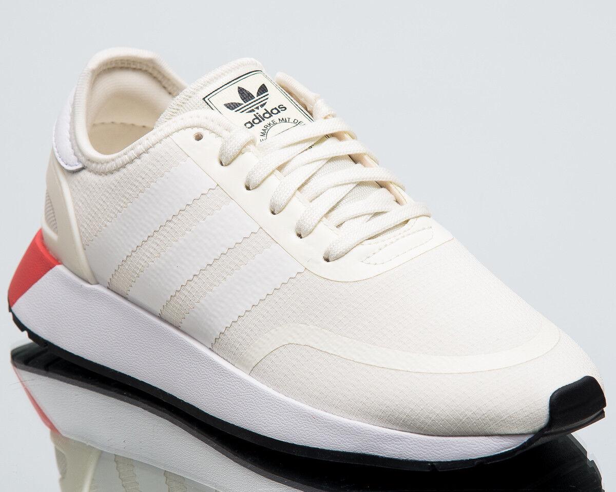 Adidas Original Femmes n-5923 Neuf Baskets beige blanc chaussures noires aq1132