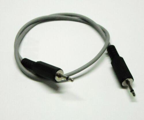 Cavo BF con 2 connettori Jack Maschio 2,5 Mono lunghezza del cavo 300cm 3 Mtr.