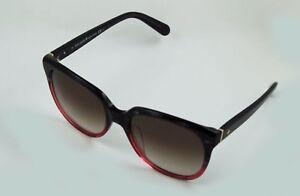 7141405525e72 Kate Spade Bayleigh S Sunglasses Rose to Black Tortoise Fade Brown ...