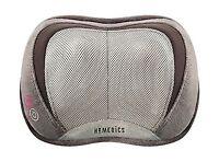 Homedics Sp-100h 3d Shiatsu And Vibration Massage Pillow With H... Free Shipping