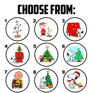 image is loading 63 charlie brown snoopy christmas envelope seals labels