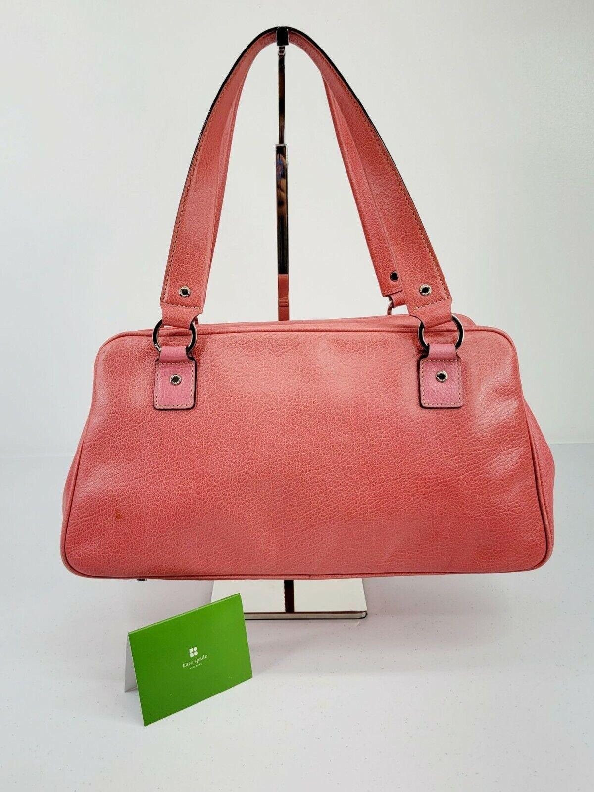 Kate Spade New York Bubblegum Pink Leather Satche… - image 2