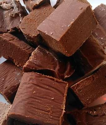 Whisky Fudge. Chocolade fudge met Glenfarclas 105. Een echte bonbon, cadeautje