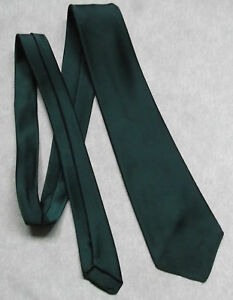 TOOTAL-BOYS-TIE-DARK-FOREST-GREEN-VINTAGE-1960-039-S-1970-039-039-S-MINI-MOD-AGE-8-14