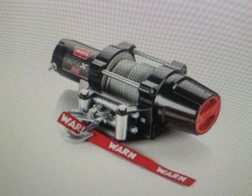WARN VRX 2500 LB ATV WINCH COMPLETE KIT FOR YAMAHA KODIAK 700     2016 TO 2019