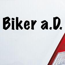 Adesivi Auto MOTOCICLISTA Stati limitata.(D). esterno Servizio Moto Bici