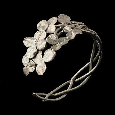 Michael Michaud - Clover Cuff Bracelet - Silver Seasons Jewelry, Made in USA