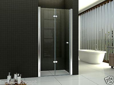 duschtr falttr nischentr duschabtrennung dusche 80 145 cm 6mm glas alusc007 - Dusche Nischentur 85 Cm