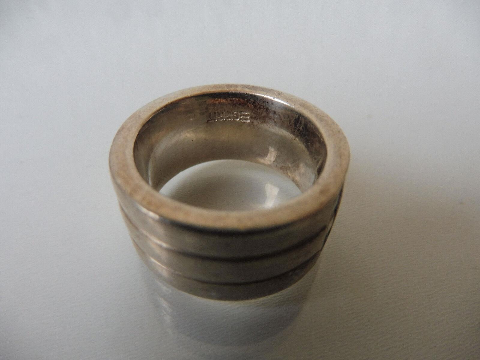 Schöner, massiver Ring__925 silver_mit 6 Steinen__Esprit 925__17,1 Gramm __Gr.54