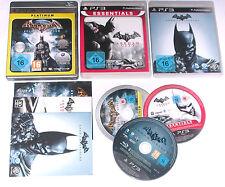 Spiele: BATMAN ARKHAM CITY + ASYLUM + ORIGINS für die Playstation 3/ PS3
