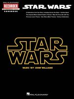 Star Wars Hal Leonard Recorder Songbook Recorder Book 000110292