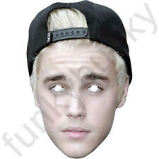 Justin Bieber 2016 Celebrity Singer - All Our Masks Are Pre-Cut!