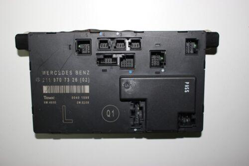 1 of 1 - 2007 MERCEDES W211 E CLASS / FRONT L-SIDE DOOR CONTROL UNIT A2118707326
