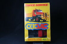 YQ074 HELLER 1/48 maquette cliclac camion 2008 Volvo N12 Truck Service