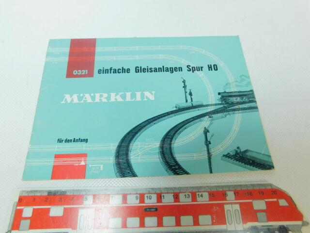 BP449-0, 5 # märklin Gauge H0 0321 Simple Track System for the Beginning 61/1961