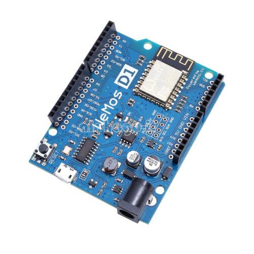 Scheda sviluppo WiFi WE2 WeMos D1 CH340 ESP8266 ESP-12E per Arduino IDE UNO R3