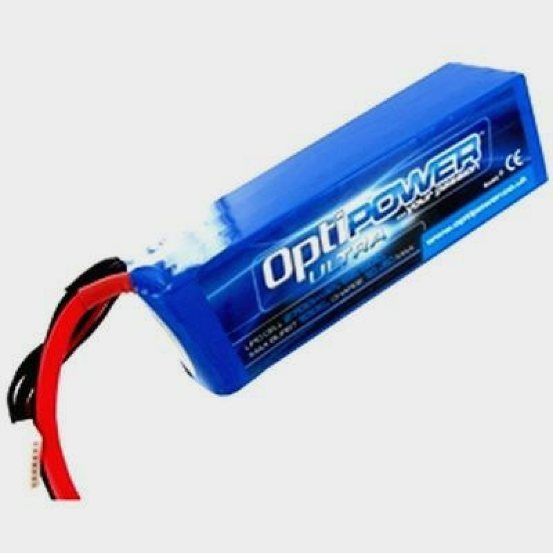 22.2v 50C 6S 5300mAh Ultra 50C Lipo Batería Celular Optipower OPR53006S50