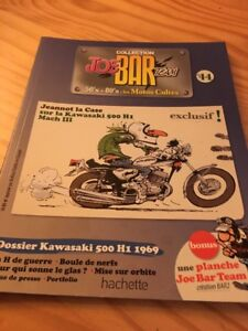 Joe-BAR-Team-No-44-Collection-Motorcycle-Magazine-50-039-s-80-039-s-The-Bikes-Cult
