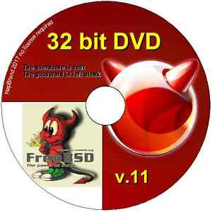 Details about FreeBSD Unix Operating System, 32 bit DVD Free BSD  alternative O/S version 11