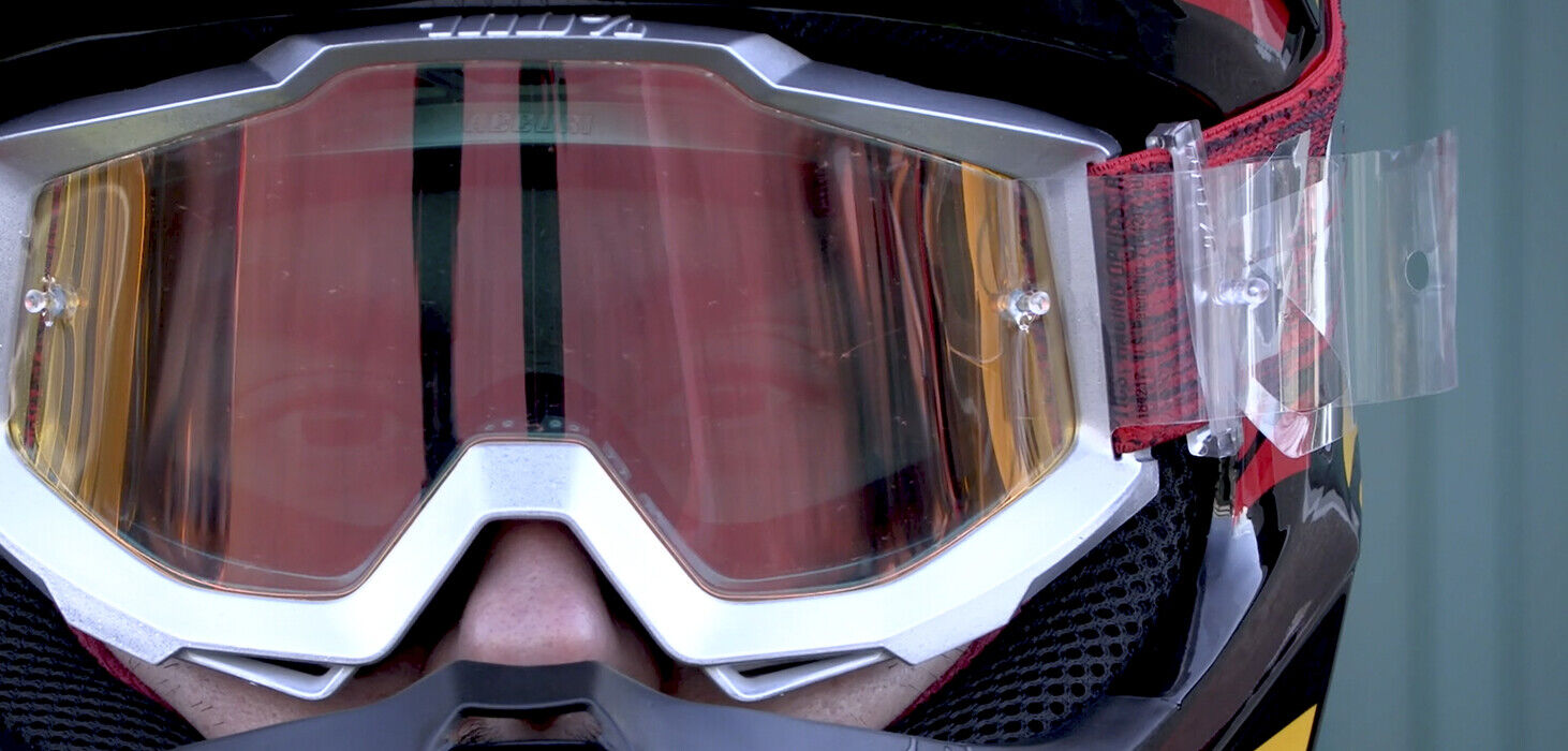 Goggle-Shop Motocross Goggle Abreißfelder Passend 100/% Racecraft//Accuri//Strata