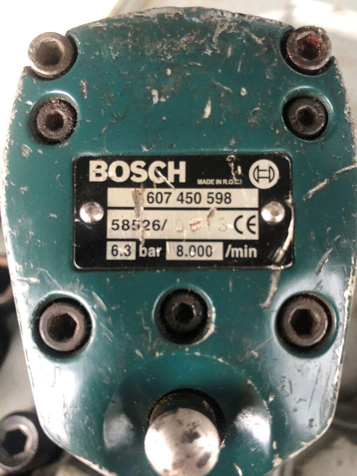 Møtrikspænder, Bosch
