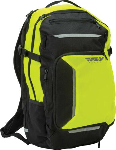 Fly Racing ILLUMINATOR Backpack 27Lt Expandable Includes Raincover HI-VIZ  New