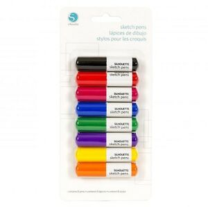 SILHOUETTE-Sketch-Pens-Starter-Pack-of-eight-Basics-Pack