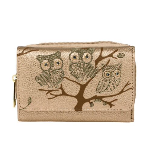 Womens Coin Purses Ladies New High Quality Owl Wallets Girls Card Holder UK Bags
