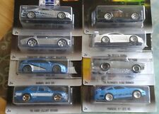 New 2017 Hot Wheels Fast And Furious 8 Car Set Skyline Honda Supra Porsche