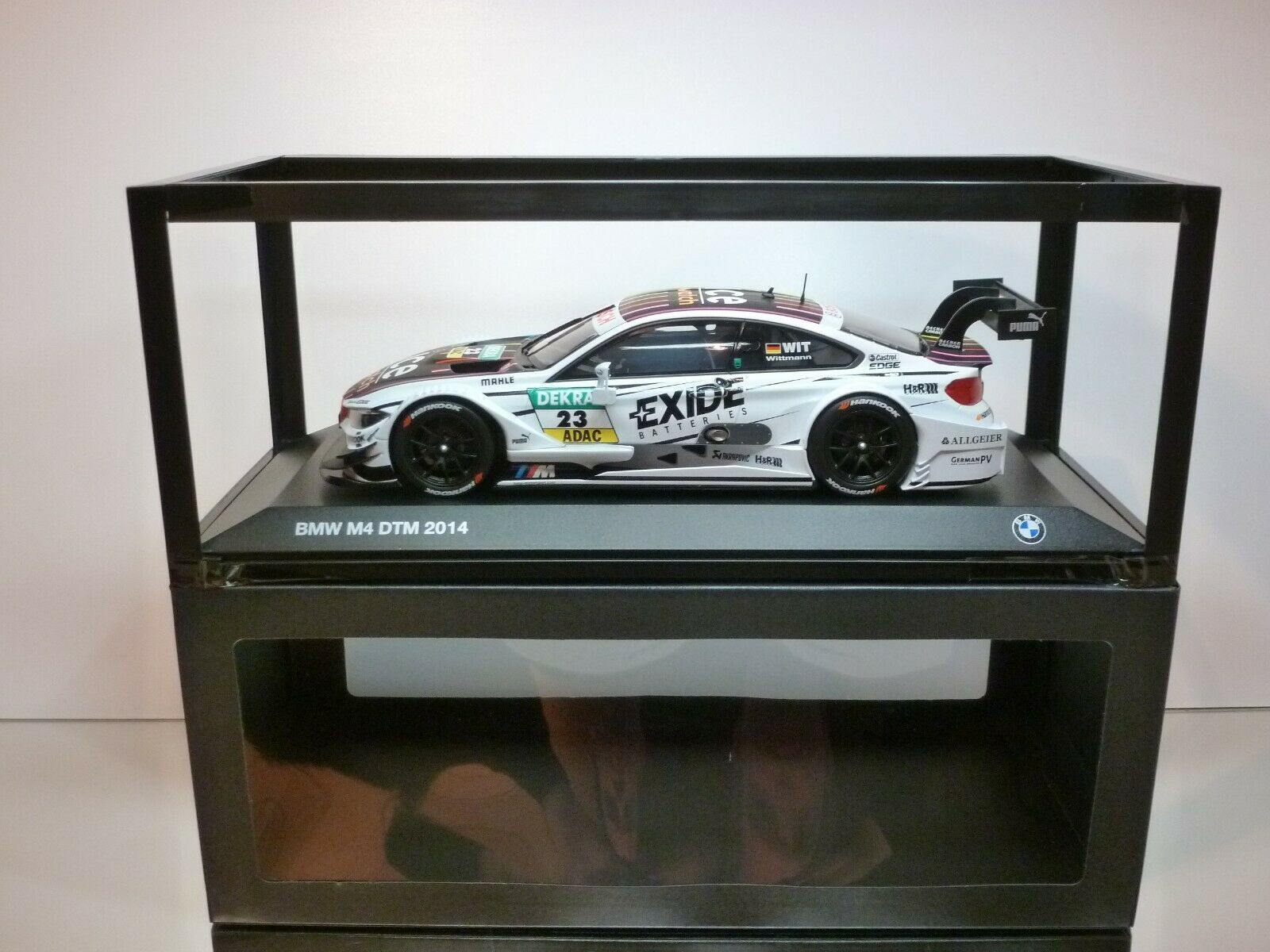 NOREV BMW M4 DTM 2014 TEAM RMG - MARCO WITTMANN - blanc 1 18 - EXCELLENT IN BOX
