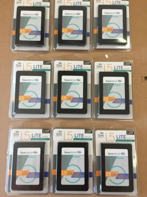 """Team Group L5 LITE 2.5/"""" 480GB Solid State Drive SSD Internal HD Hard Drive"""