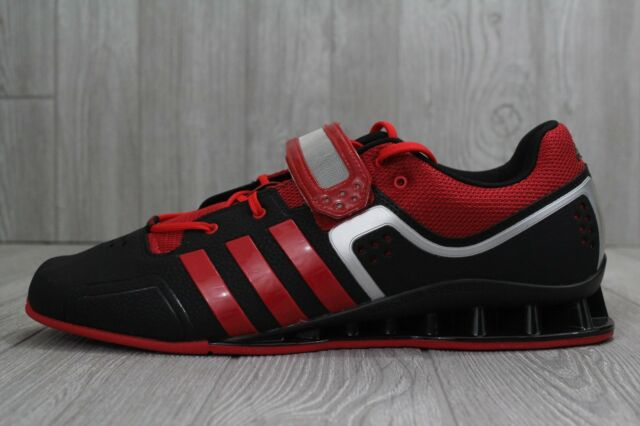 30 Adidas Adipower Weightlift M21865 Weightlifting Shoes Men's Size 15 Red Black