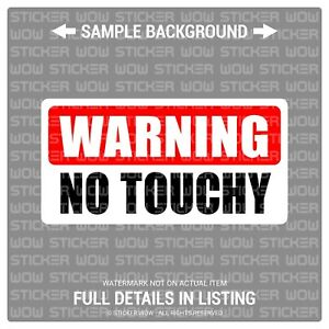 x2 Decal Sticker Vinyl Warning KEEP YOUR DICK BEATERS OFF MY TOOLS 6x3