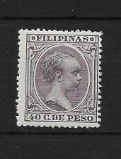 FILIPINAS  EDIFIL 129** VALOR CLAVE DE LA SERIE CAT 60 EUROS
