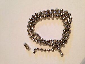 Rouleau-Store-romain-Metal-Nickel-Perles-Chaine-4-5-mm-Balle-vendu-au-metre