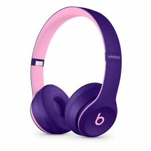 NEW-Apple-Beats-by-Dr-Dre-Solo3-Wireless-Stereo-Headphones-MRRJ2LL-A-POP-Violet