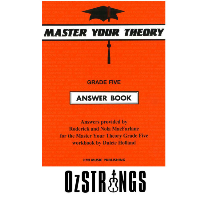 Master Your Theory Grade Five Answer Book