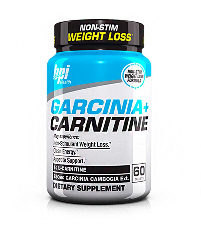 BPI Sports Garcinia de + Carnitine Supplément de Garcinia perte de poids (60 comprimés) 53733c