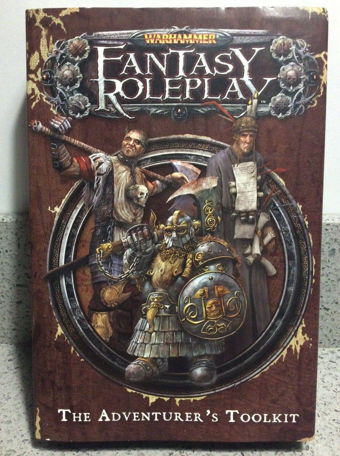 Games Workshop WARHAMMER Fantasy Roleplay THE ADVENTURER'S TOOLKIT - New Sealed