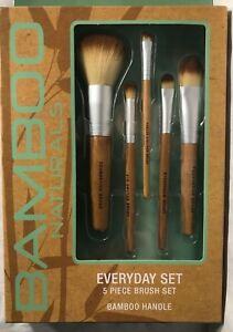 4ecc939b34d5 Details about Bamboo Naturals Everyday Set - 5 Piece Brush Set