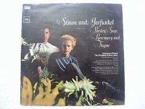 SIMON-AND-GARFUNKEL-PARSLEY-SAGE-ROSEMARY-THYME-1st-Press-RARE-LP-INDIA-EX