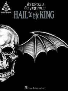 Avenged Sevenfold Hail to the King Sheet Music Guitar Tablature Book N 000123216
