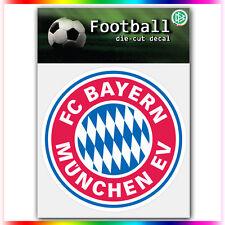 """FC Bayern Munchen UEFA Die Cut Vinyl Sticker Car Bumper Window 4""""x4"""""""