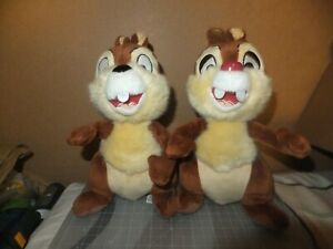 Vintage-Disneyland-Walt-Disney-World-Chip-and-Dale-8-034-Plush-Toy