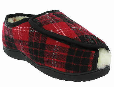 extra weite Passform 5e/E offener Zeh Memory Foam SCHOTTENKARO Damen Schuhe