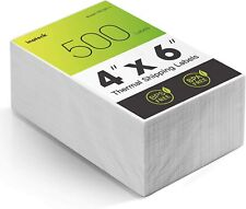 Direct Thermal Shipping Labels Pack Of 500 4 6 Inch 100150mm Waterproof