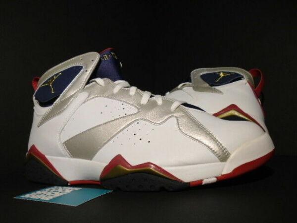 Nike Air Jordan VII 7 Retro Olympic 2004 304775 171 Size 13 Deadstock