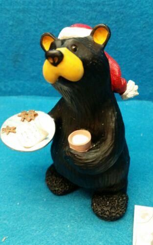 "Bearfoots Bear by Jeff Fleming /""Ready for Santa/"" Big Sky Carvers NOS"