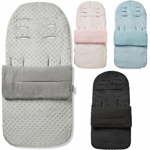 Universal Fitting Manchon de Pieds//Cosy toes//Baby poussette-Polyester-Coton