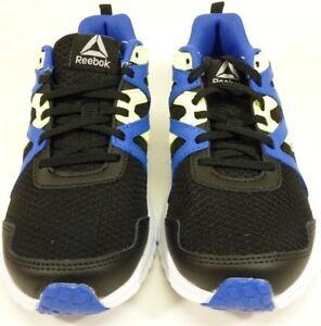 206f74cf4f35 Reebok Women s Running Sneakers CN0917 Black And Blue Size 4 1AP506 ...